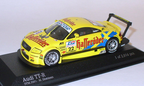 .. collection eigene audi-tt-dtm-2001-ekstroem