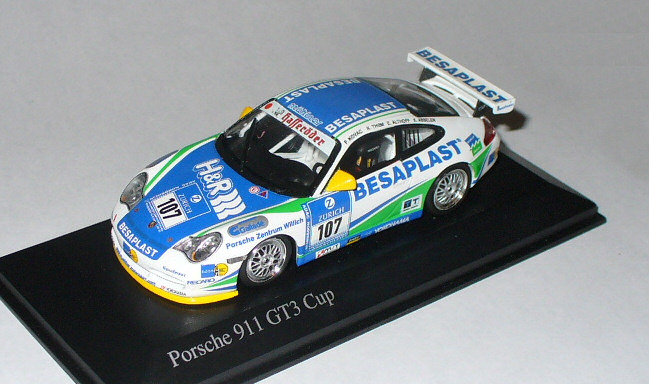 .. collection eigene gt3-cup-996--24hnurburgring2004-pz-willich
