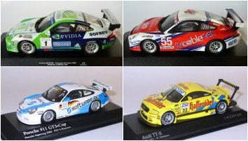 Sonderpreis Minichamps Porsche 911 GT3 RSR Le Mans 2005 #80 1:43 in OVP