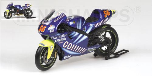 Die cast 1//24 Modellino Moto GP Yamaha YZR-M1 Carlos Checa 2004