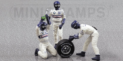PIT STOP WILLIAMS SUPPLY Minichamps 343100051
