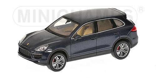 schwarz Minichamps 1:43-400069240 2010 Porsche Cayenne hybrid 958