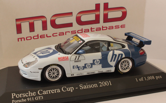 .. collection minichamps gt3-cup-2001-hp-menzel