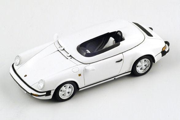 1:43 Minichamps PORSCHE 911 SPEEDSTER 2011 WHITE 400069531