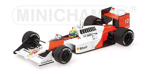 Prost Ferrari 1991 MINICHAMPS OVP new 1:8 HELM Driver A